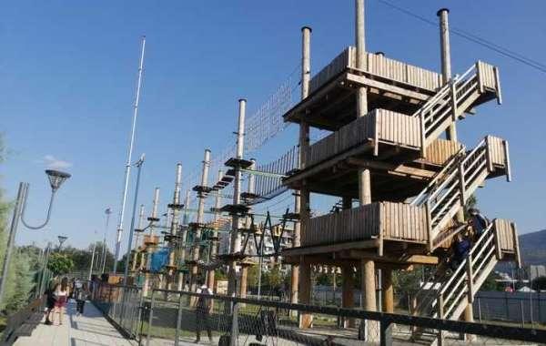 Отворен адреналинскиот парк на кејот на реката Вардар во Карпош